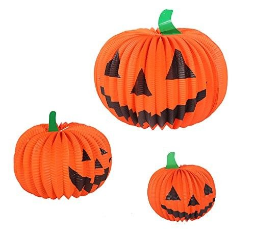 Unique Shaped Paper Halloween Decorations , 30cm Halloween Design Paper Craft