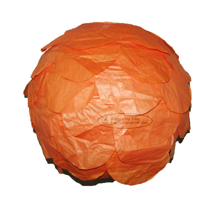 Dia 30cm Multilayer Round Paper Lanterns For Party , Hanging
